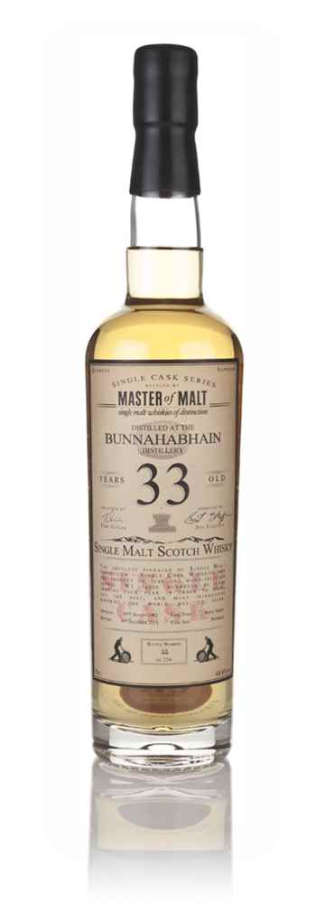 Bunnahabhain 33 Year Old 1982 - Single Cask (Master of Malt)