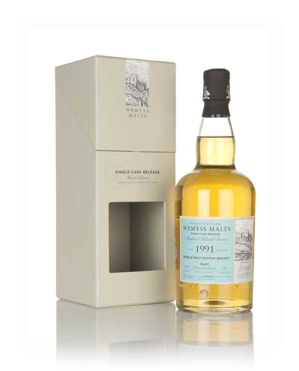 Tropical Island Dram 1991 (bottled 2018) - Wemyss Malts (Bunnahabhain)