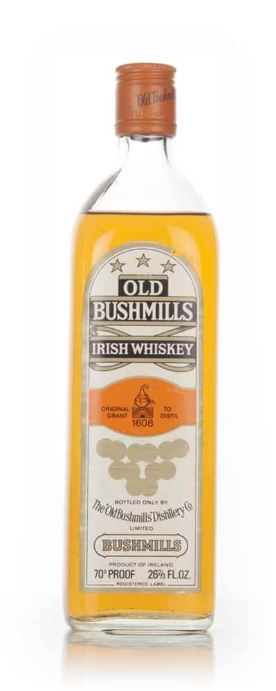 Old Bushmills Special Old Liqueur Whiskey - 1970s