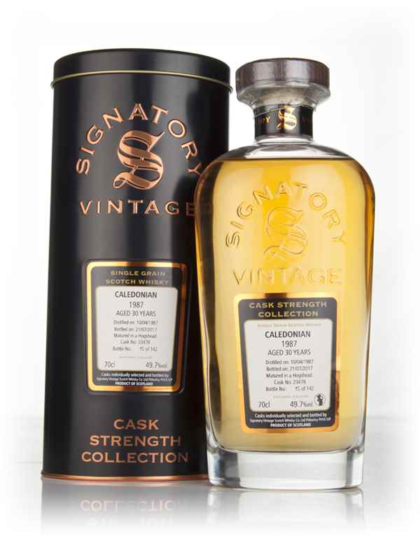 Caledonian 30 Year Old 1987 (cask 23478) - Cask Strength Collection (Signatory)