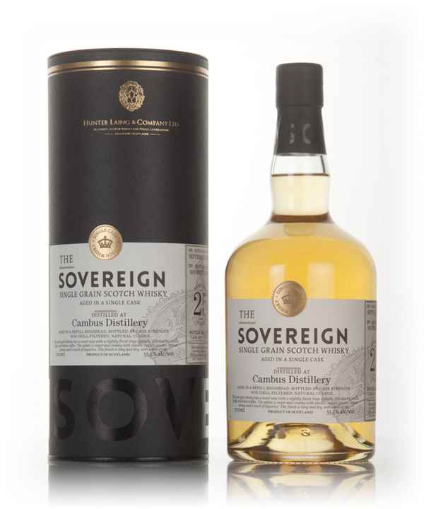 Cambus 25 Year Old 1991 (cask 13051) - The Sovereign (Hunter Laing)