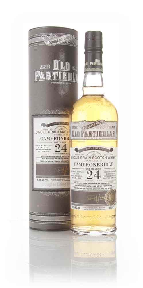 Cameronbridge 24 Year Old 1991 (cask 11225) - Old Particular (Douglas Laing)