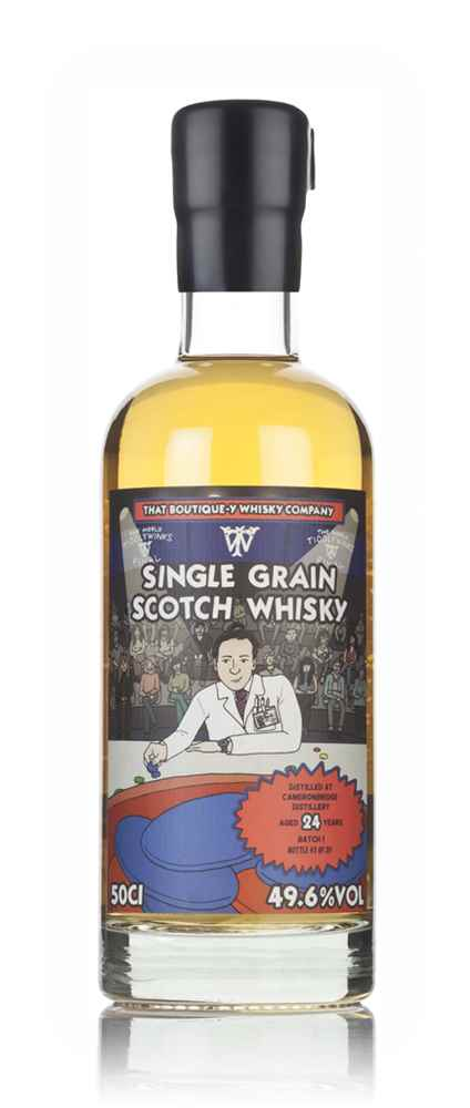 Cameronbridge 24 Year Old - Batch 1 (That Boutique-y Whisky Company)