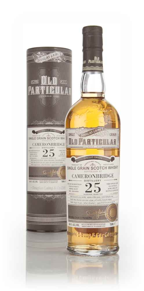 Cameronbridge 25 Year Old 1990 (cask 10806) - Old Particular (Douglas Laing)