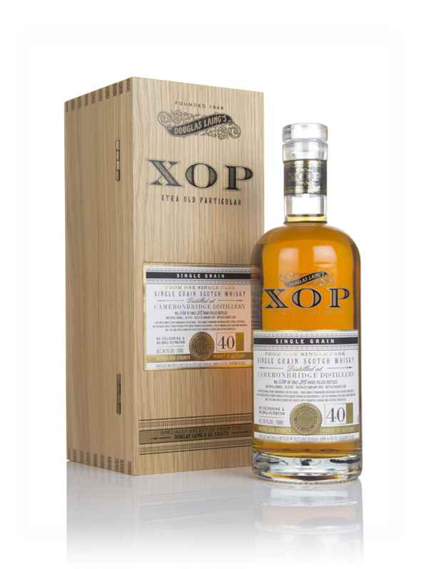 Cameronbridge 40 Year Old 1978 (cask 12767) - Xtra Old Particular (Douglas Laing)