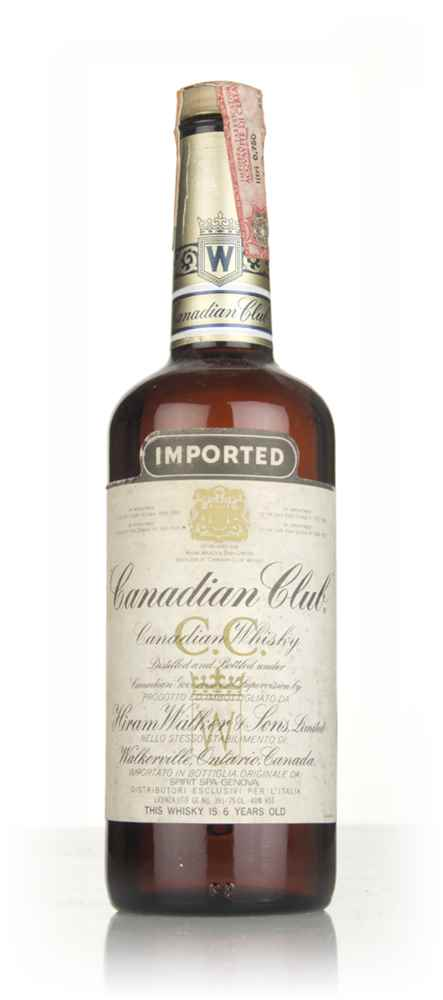 Canadian Club 6 Year Old Whisky - 1979