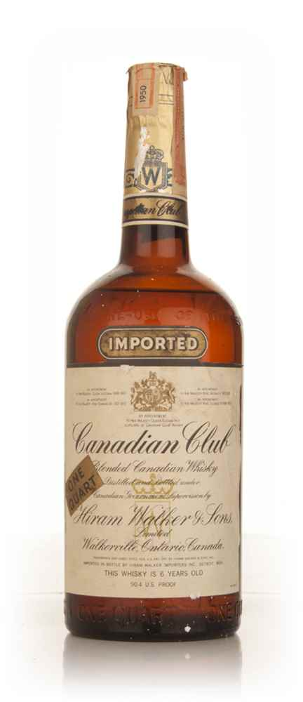 Canadian Club 6 Year Old Whisky - 1950