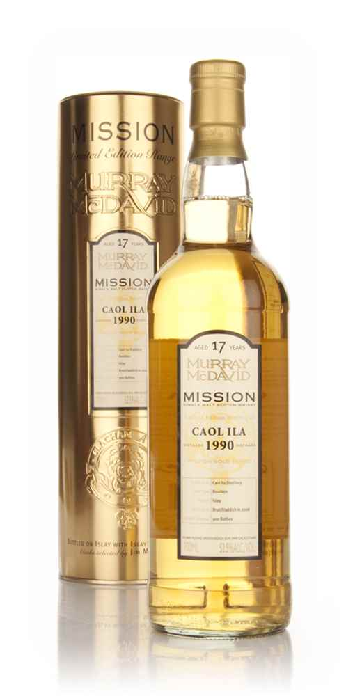 Caol Ila 17 Year Old 1990 - Mission (Murray McDavid)