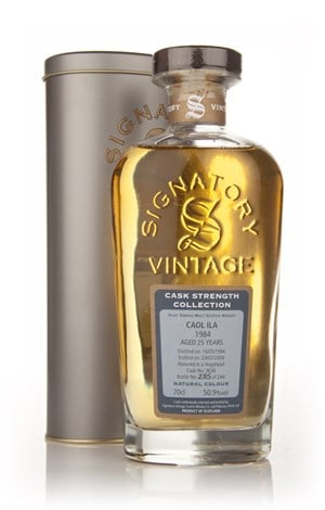 Caol Ila 25 Year Old 1984 Cask 3636 - Cask Strength Collection (Signatory)