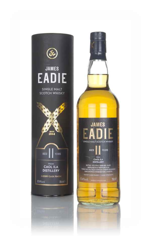 Caol Ila 11 Year Old 2007 - James Eadie