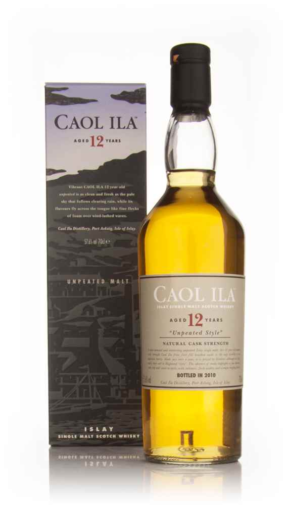 Caol Ila 12 Year Old Unpeated (2010 Special Release)