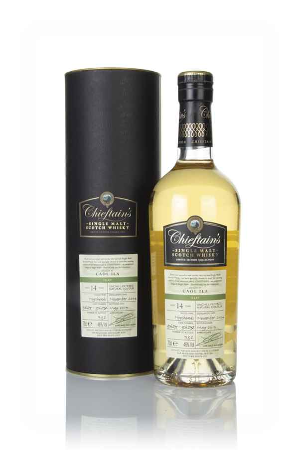 Caol Ila 14 Year Old 2004 (casks 306295 & 306297) - Chieftain's (Ian Macleod)
