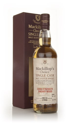 Caol Ila 17 Year Old 1990 - Mackillop's Choice