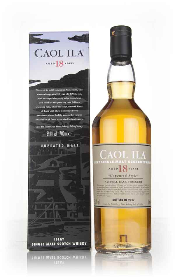 Caol Ila 18 Year Old Unpeated (Special Release 2017)