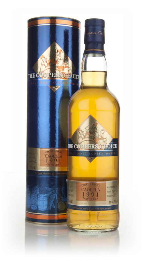 Caol Ila 19 Year Old 1991 - The Coopers Choice (The Vintage Malt Whisky Co.)