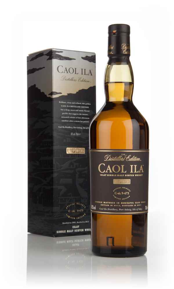 Caol Ila 2001 (bottled 2013) Moscatel Cask Finish  - Distillers Edition