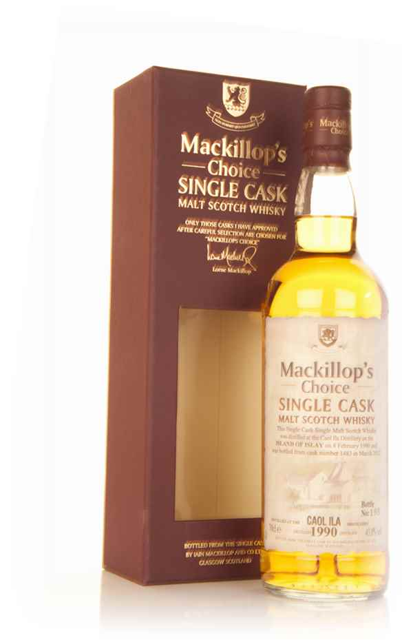 Caol Ila 22 Year Old 1990 (cask 1483) - Mackillop's Choice