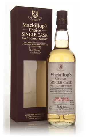 Caol Ila 23 Year Old 1990 (cask 1484) - Mackillop's Choice