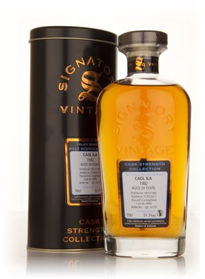 Caol Ila 30 Year Old 1982 (cask 6490) - Cask Strength Collection (Signatory)
