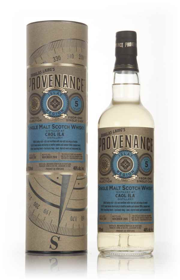 Caol Ila 5 Year Old 2011 (cask 11346) - Provenance (Douglas Laing)