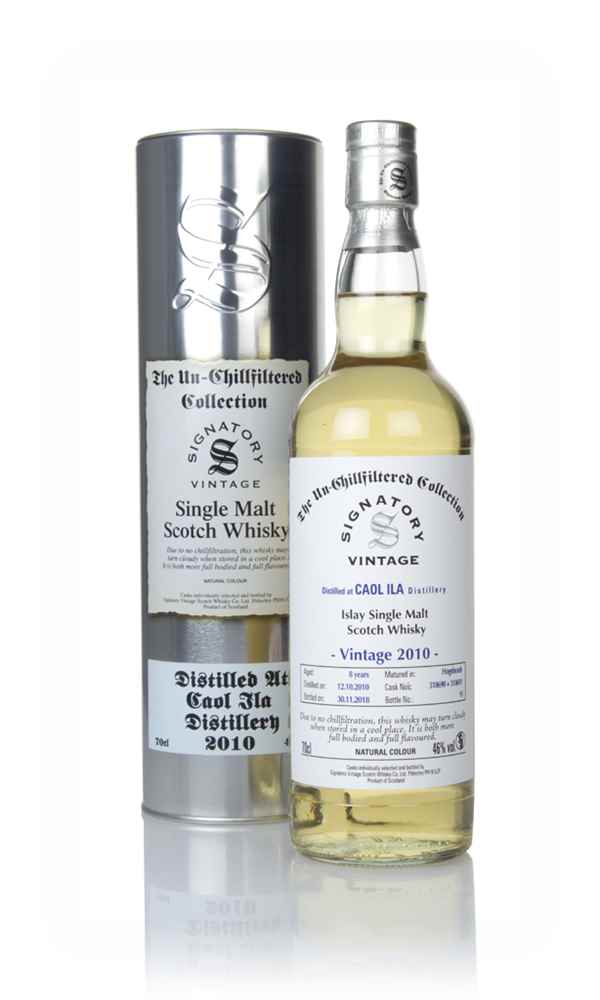 Caol Ila 8 Year Old 2010 (cask 318690 & 318691) - Un-Chillfiltered Collection (Signatory)