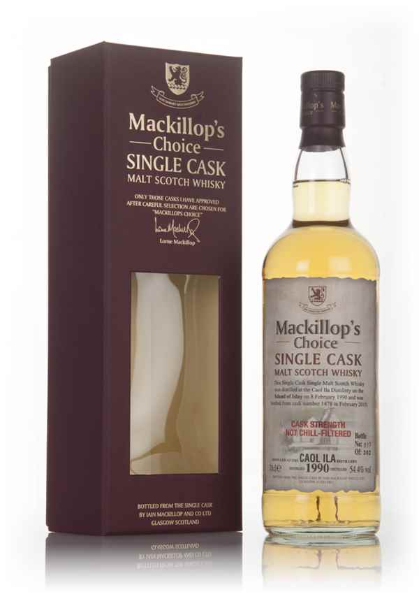 Caol Ila 25 Year Old 1990 (cask 1478) - Mackillop's Choice