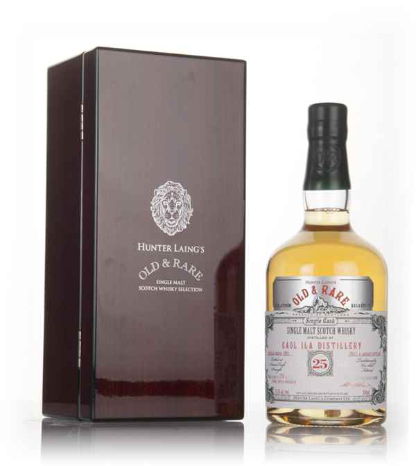 Caol Ila 25 Year Old 1991 - Old & Rare Platinum (Hunter Laing)