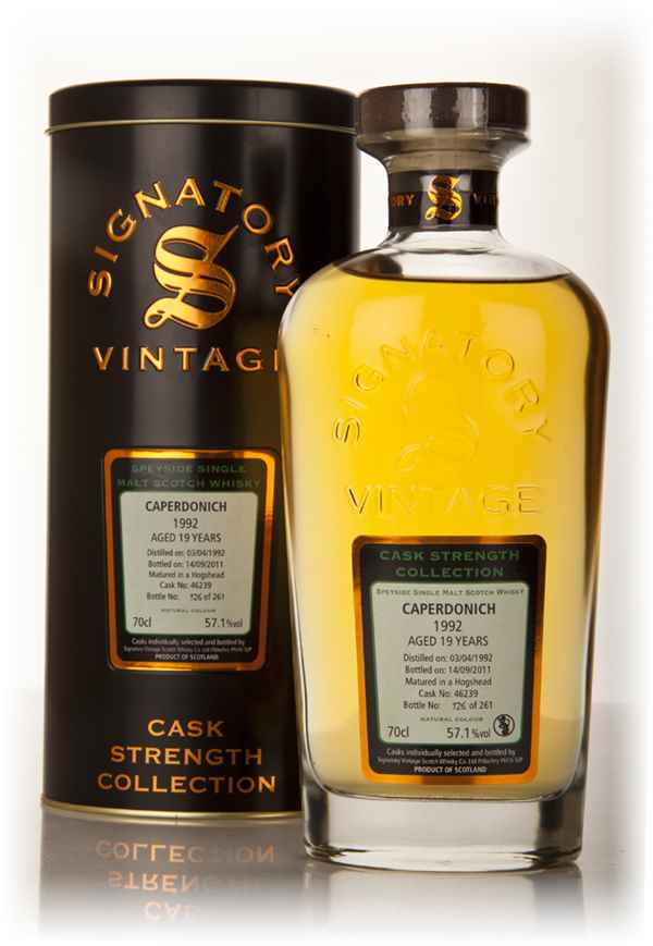 Caperdonich 19 Year Old 1992 Cask 46239 - Cask Strength Collection (Signatory)