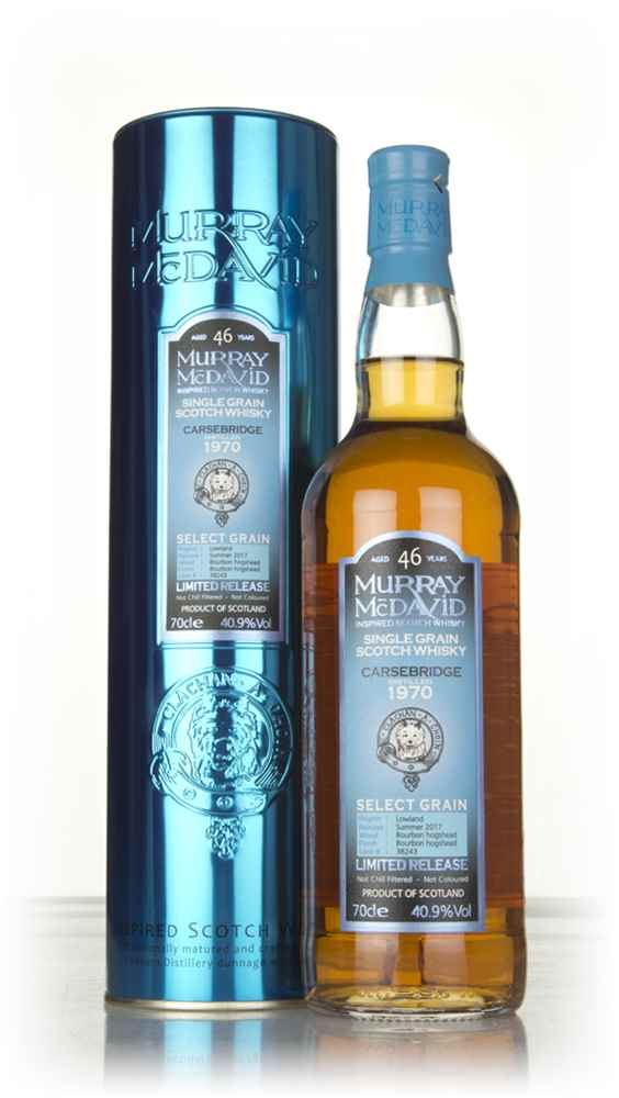 Carsebridge 46 Year Old 1970 (cask 38243) - Select Grain (Murray McDavid)