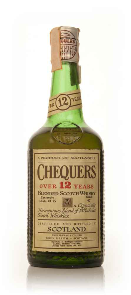 Chequers 12 Year Old - 1970s