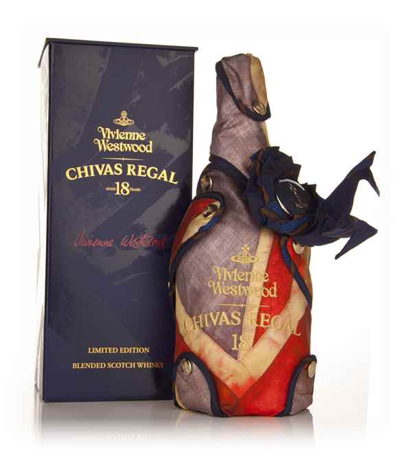 Chivas Regal 18 Year Old - Vivienne Westwood Edition