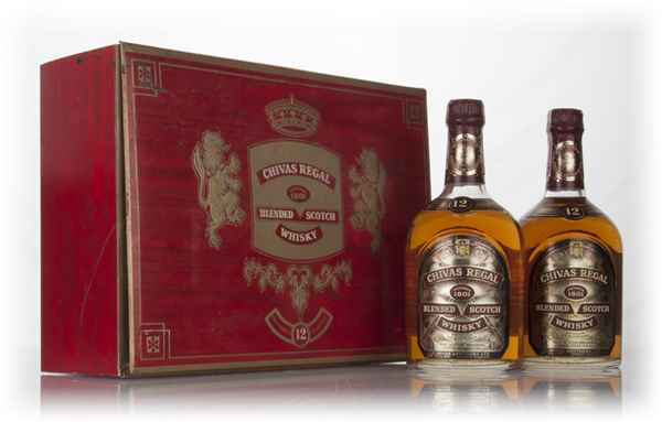 Chivas Regal 12 Year Old Gift Set - 1970s
