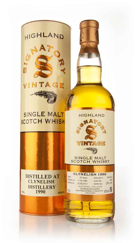 Clynelish 20 Year Old 1990 (Signatory)