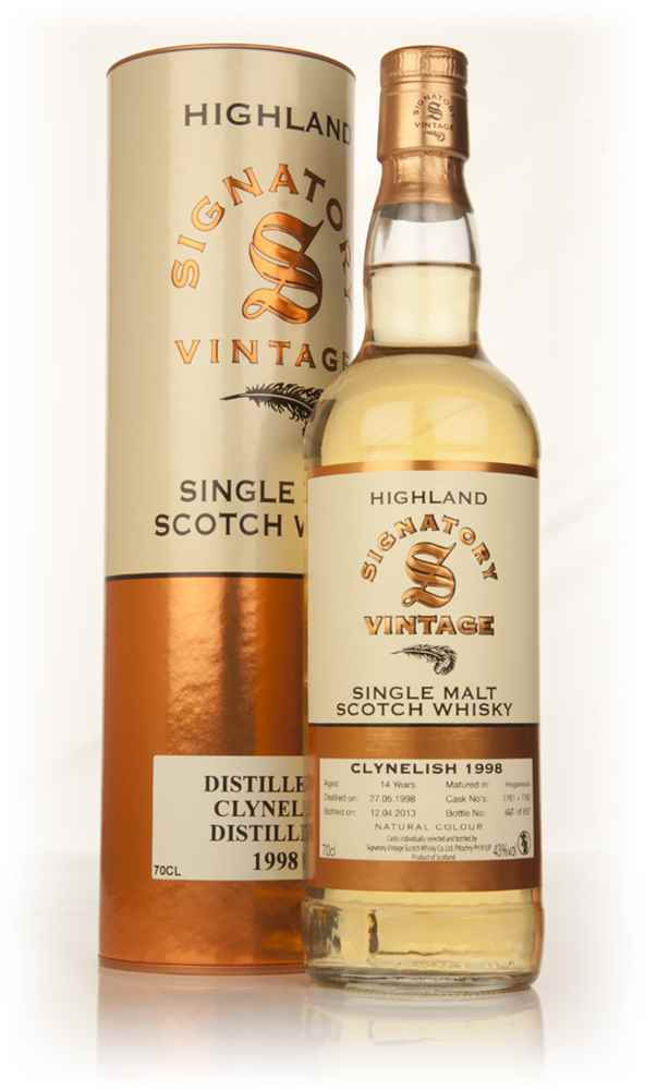 Clynelish 14 Year Old 1998 (casks 7761+7762) (Signatory)