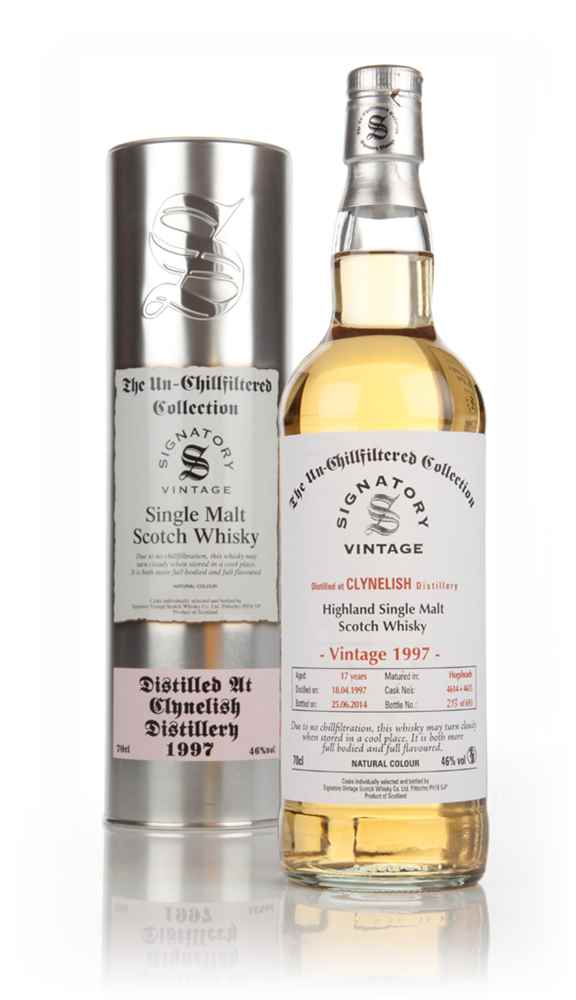 Clynelish 17 Year Old 1997 (casks 4614+4615) - Un-Chillfiltered (Signatory)