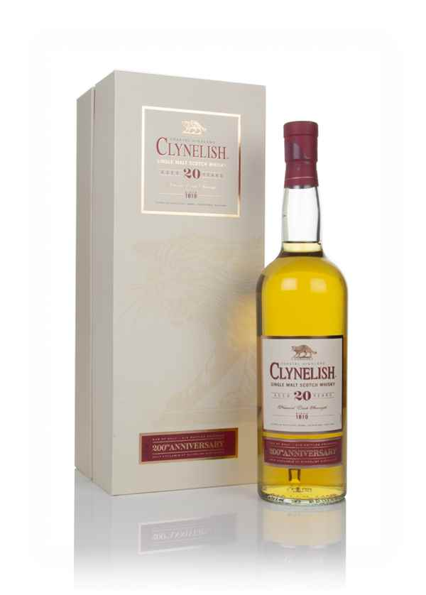 Clynelish 20 Year Old 200th Anniversary Distillery Exclusive