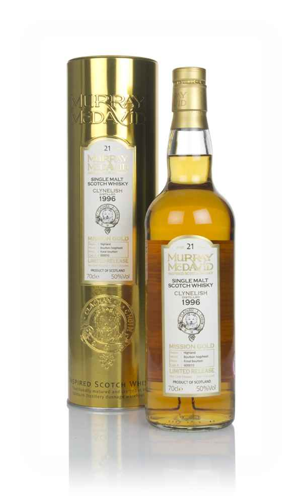 Clynelish 21 Year Old 1996 (cask 600010) - Mission Gold (Murray McDavid)