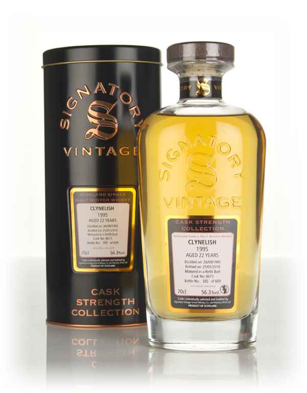 Clynelish 22 Year Old 1995 (cask 8673) - Cask Strength Collection (Signatory)