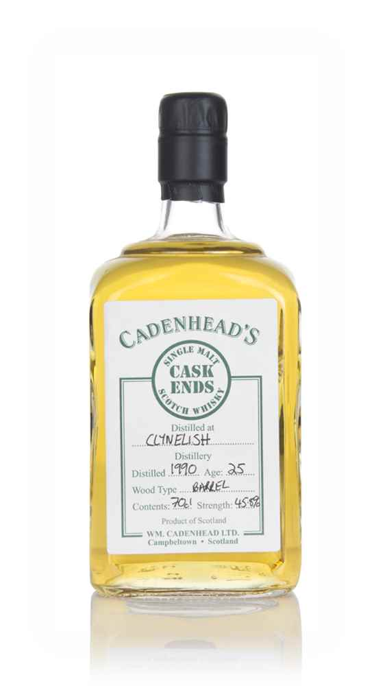 Clynelish 25 Year Old 1990 - Cask Ends (WM Cadenhead)