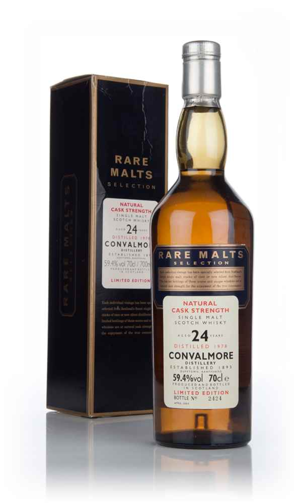 Convalmore 24 Year Old 1978 - Rare Malts