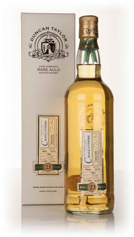 Cragganmore 23 Year Old 1987 - Rare Auld (Duncan Taylor)