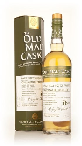Cragganmore 16 Year Old 1997 (cask 9931) - Old Malt Cask (Hunter Laing)
