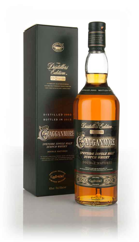 Cragganmore 2003 (bottled 2015) Port Wood Finish - Distillers Edition