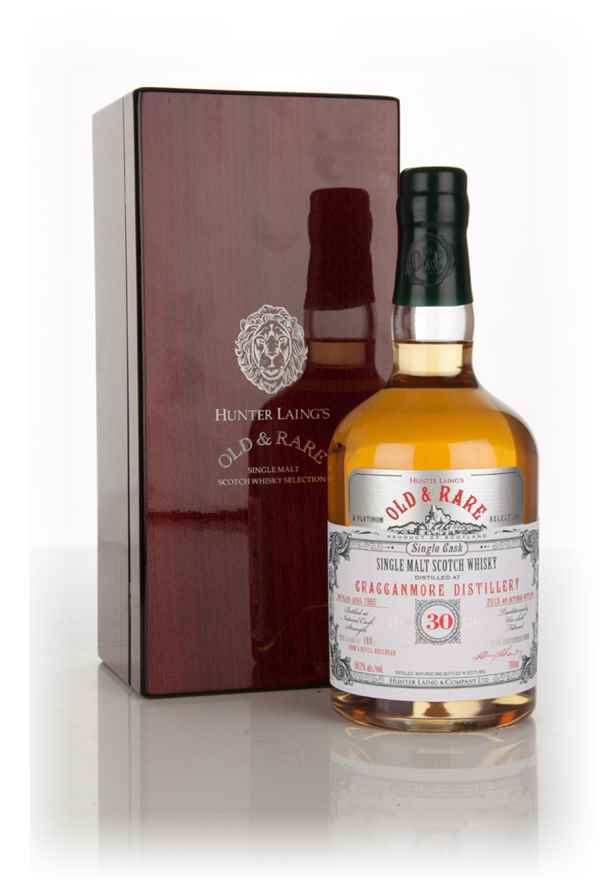 Cragganmore 30 Year Old 1985 (bottled 2015) - Old & Rare Platinum (Hunter Laing)