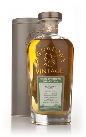 Craigduff 32 Year Old 1973 - Cask Strength Collection (Signatory)