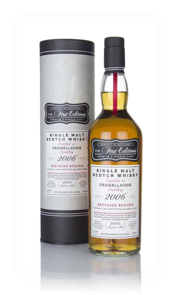 Craigellachie 12 Year Old 2006 (cask 15807) - The First Editions (Hunter Laing)