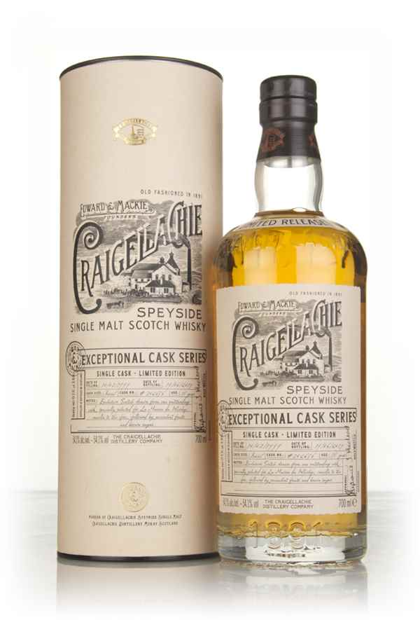 Craigellachie 18 Year Old 1999 (cask 302656) - Exceptional Cask Series