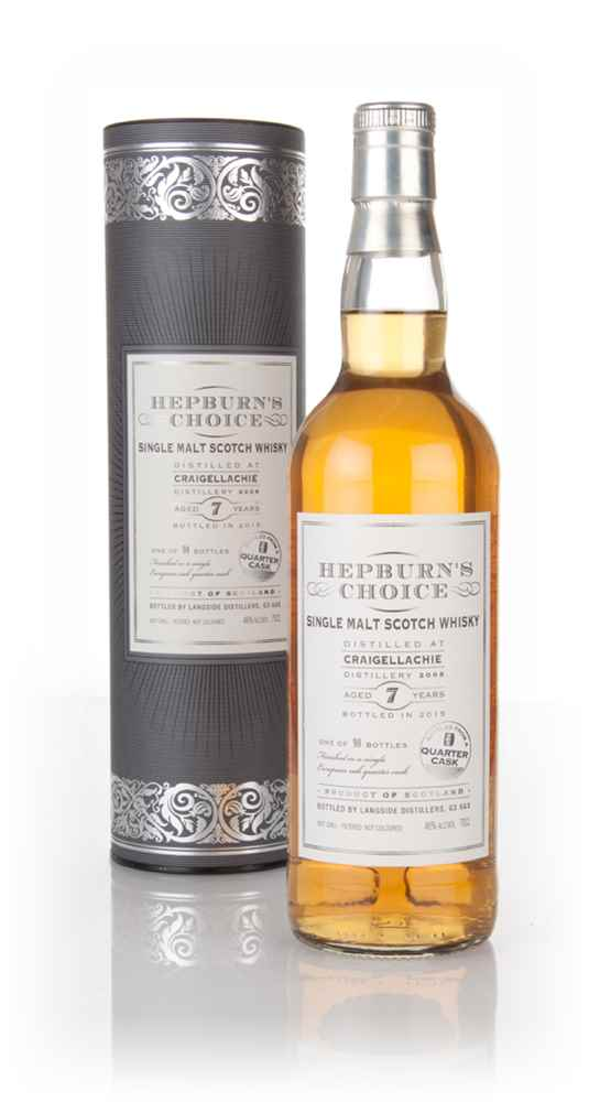 Craigellachie 7 Year Old 2008 - Hepburn's Choice (Langside)