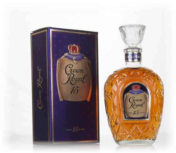 Crown Royal 15 Year Old - 1980s
