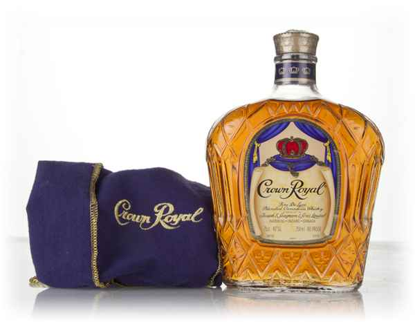 Crown Royal Canadian Whisky (No Box) - 1980s